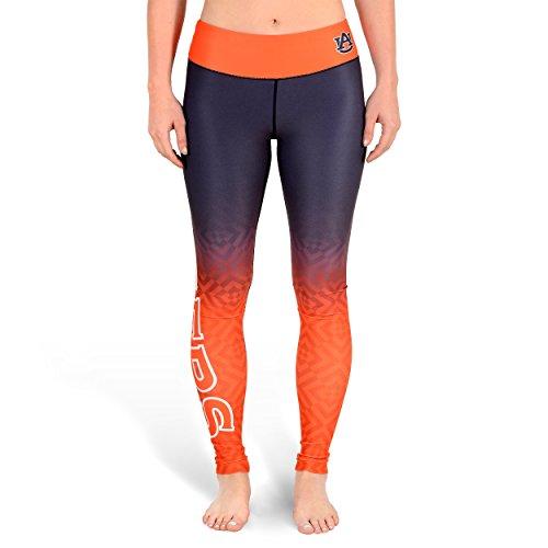 NCAA Womens Auburn Tigers Gradient Print Leggings, ()
