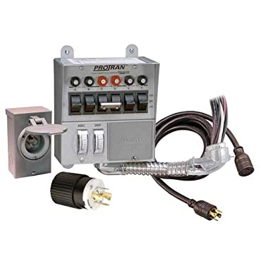 Reliance Controls 31406CRK 30 Amp 6-circuit Pro/Tran Transfer Switch Kit for Generators (7500 Watts)