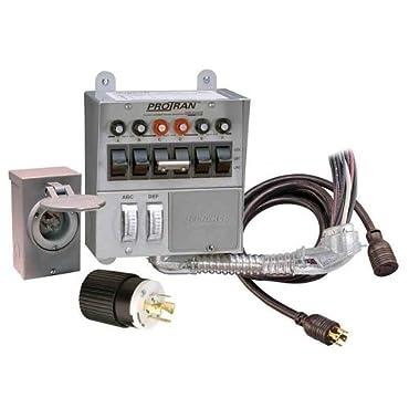 Reliance Controls 31406CRK 30 Amp 6-circuit Pro/Tran Transfer Switch Kit for Generators (7500 Watts)