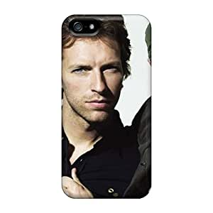 Iphone 5/5s Wyv8028Yexx Special Colorful Design Coldplay Band Image Bumper Hard Cell-phone Case -JohnPrimeauMaurice