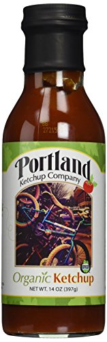 Price comparison product image Organic Natural Ketchup: Portland Ketchup Company 14 oz Gluten-Free Vegan No-GMOs (3-Pack)