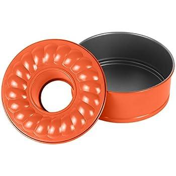 Amazon Com 7 Inch Non Stick Springform Bundt Pan 2 In 1