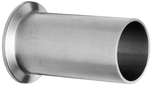 Dixon 14WLMP-G150 Stainless Steel 304 Sanitary Fitting, Light Duty Tank Weld Clamp Ferrule, 1-1/2'' Tube OD by Dixon Valve & Coupling