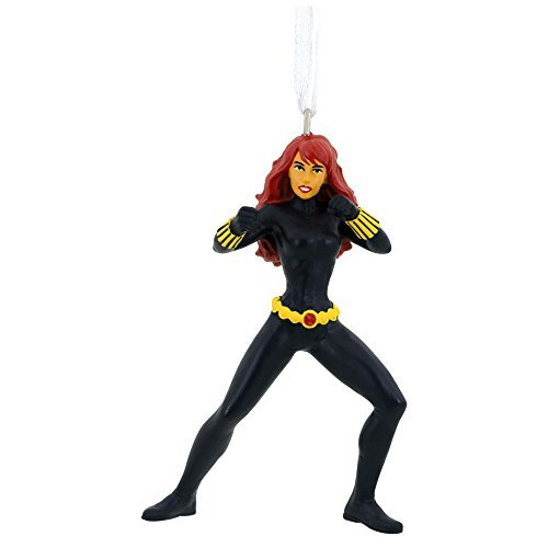 2016 Hallmark Marvel BLACK WIDOW Christmas Tree Ornament Avengers Holiday Decoration -