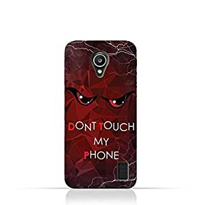 Huawei Y635 TPU Silicone Case with Dont Touch My Phone 3 Design