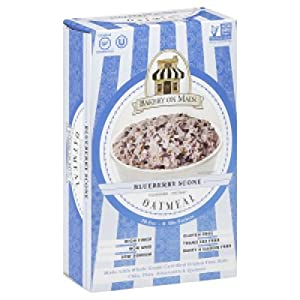 Bakery on Main Blueberry Scone Instant Oatmeal, 10.5 Ounce -- 6 per case.