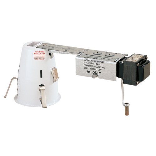4 in. - Miniature Low Voltage 50W Remodel Housing with Quick Connect - 12 Volt- PLT PLR404Q by PLT