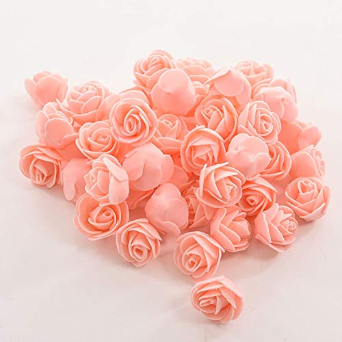 Dds5391 New 50 Colorfast Foam Roses Artificial Flower Head Wedding Bride Party Home Decor - Nude from dds5391