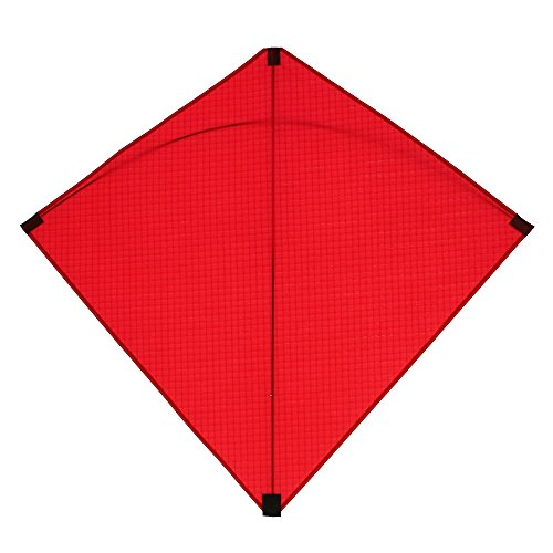 (Into The Wind Classic Red Hata Diamond Kite Made in the USA)