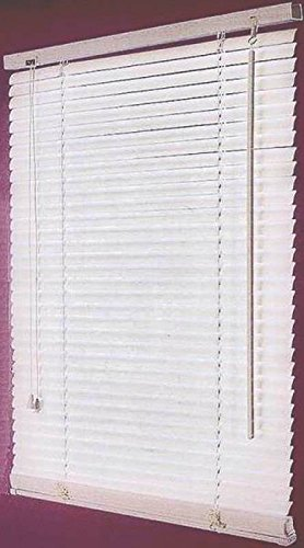 - HOMEBASIX MBV-43X64 43 by 64-Inch Vinyl Blind, Mini, White