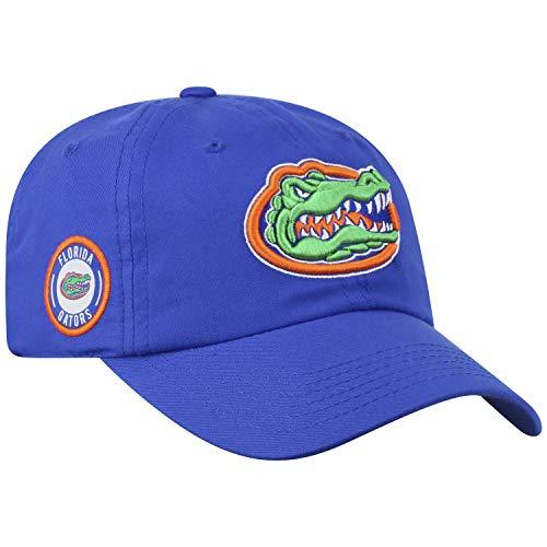 Top of the World Florida Gators Official NCAA Adjustable Blue Monsho Staple 4 Hat Cap 745299 (Slides Baseball)