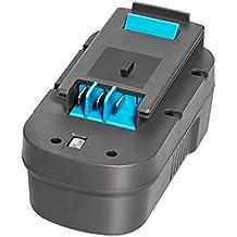 [Patrocinado] easydecor 18V 3.0Ah Ni-MH batería de repuesto para Black & Decker Taladro Herramientas Eléctricas, HPB18HPB18-OPE a1718A18a18e FS180BX FS18BX FS18FL FSB18NST2118