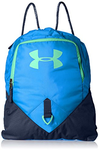 Under Armour Undeniable Sackpack, Blue Circuit/Green Typhoon