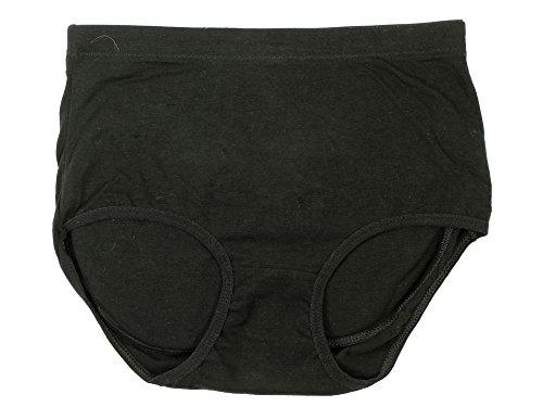 Simplicity® Panty w/ Sillicone Butt Pads Underwear Power Shapewear, Black S