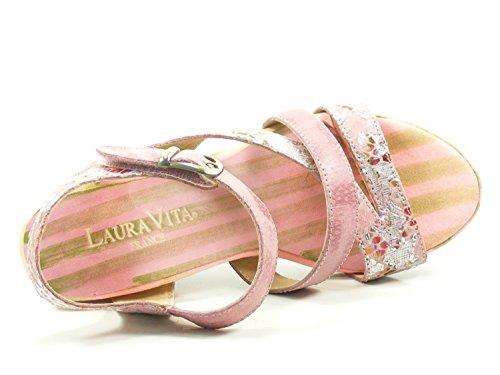 Laura Vita SL140356-22 Benoit 22 Sandales Mode Femme Rose akjUeXMf