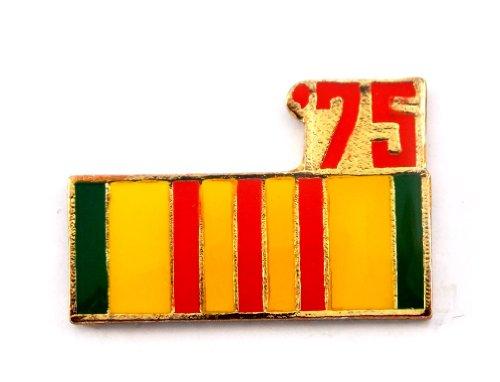 Vietnam Veteran 1975 Ribbon Lapel Hat Pin Marines Army Navy Air Force PPM803 ()