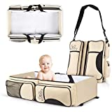 Koalaty 3-in-1 Universal Baby Travel Bag: Portable Bassinet Crib, Changing Station, and Diaper Bag for Newborns or Infants. The Best Baby Shower Gift for New mom and dad.