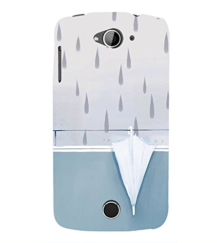 official photos 8f0fe 0f5a7 FUSON Umbrellas And Rain Drops 3D Hard Polycarbonate: Amazon.in ...