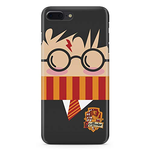 Stylish Striped Scarf Uniform Drawing iPhone X XS Case Boy Necktie Glasses iPhone X XS Case Sublimation Case Apple Glossy White Plastic Case Plastic Protective Cover MA1113