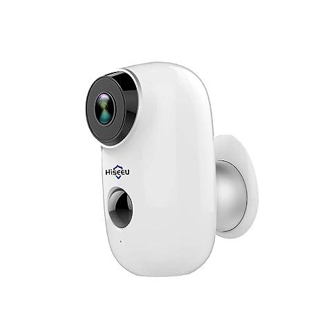 100% sin Cables Batería Recargable CCTV Cámara IP Wi-Fi al ...