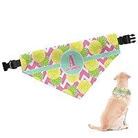 RNK Shops Pineapples Dog Bandana - Medium (Personalized)