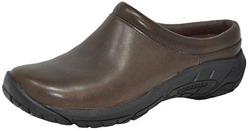 Merrell Women's Encore Nova 2 Slip-On Shoe, Bracken Smooth, 8.5 M - Womens Bracken Brown Shoes