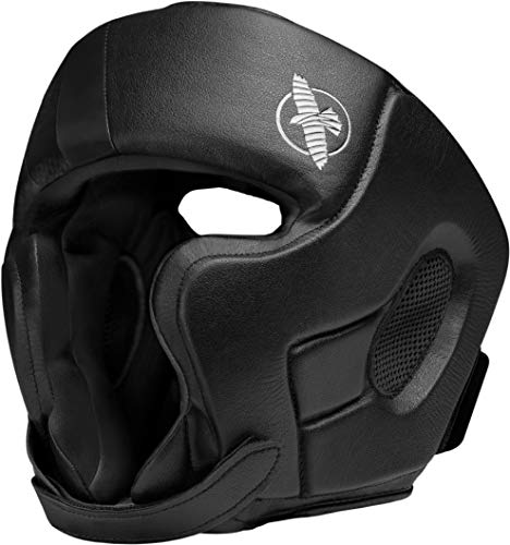 Hayabusa Boxing Headgear  | T3 Classic Training Headgear | Men and Women | Black | One Size