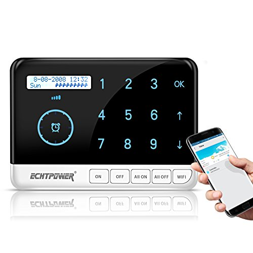 ECHTPower 9 Zone Smart Sprinkler Controller, Designed with WiFi Irrigation Timer, works with Alexa and Google home