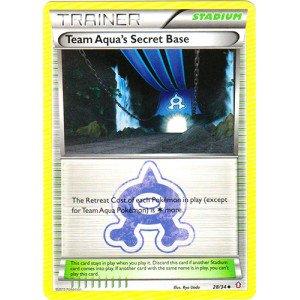Trading Aqua Cards Pokemon - Pokemon - Team Aqua39;s Secret Base (28/34) - Double Crisis