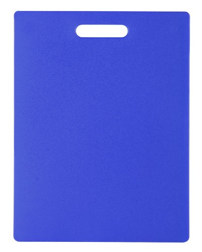 Dexas Classic Jelli Cutting Board with Handle, 11 by 14.5 inches, Royal Blue
