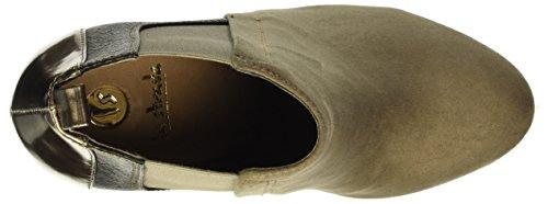 La Strada 9095, Zapatillas de Estar por Casa para Mujer Beige - Beige (2216 - micro taupe)