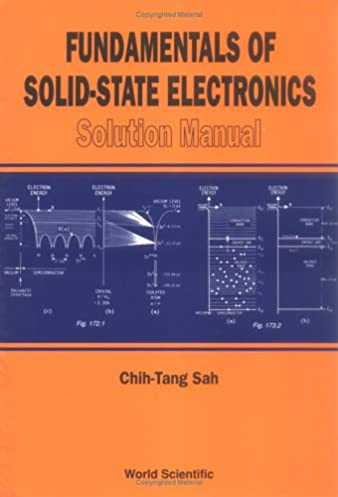 buy fundamentals of solid state electronics solution manual book rh amazon in FAA Systems Engineering Manual Coding Manual