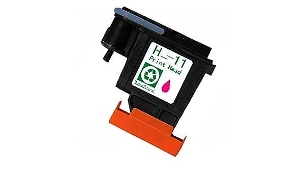 yatunink Magenta (C4812 A) Reemplazo para HP 11 Cabezal de ...