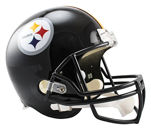 Replica Deluxe Helmet Nfl - NFL Pittsburgh Steelers Deluxe Replica Football Helmet