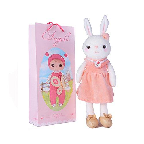 Me Too Tiramitu Stuffed Bunny Plush Rabb - Doll Pink Dress Shopping Results