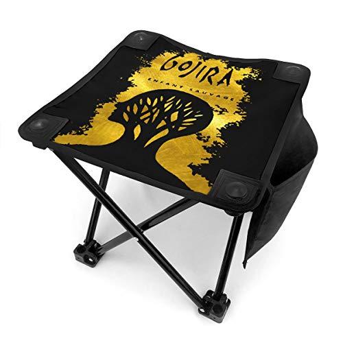 Portable Mini Folding Camping Stool Fishing Chair with Pocket Gojira L'enfant Sauvage