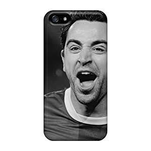 Iphone High Quality Cases/ Barcelona Xavi Hernandez In Dark Colors YsR14923NtcC Cases Covers For Iphone 5/5s