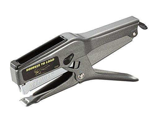 Bostitch B8 Heavy Duty 45 Sheet Plier Stapler, Full-Strip, Black (02245) 2-Pack