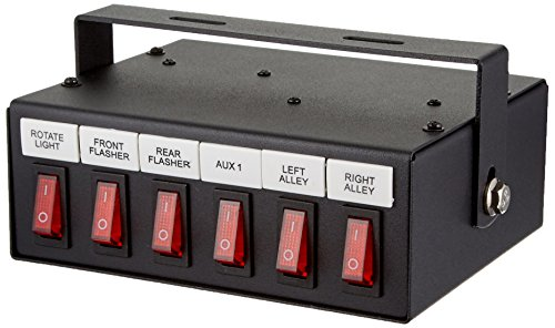 Buyers Products 6391106 Illuminated 6-Function On Switch - Switch Box Toggle