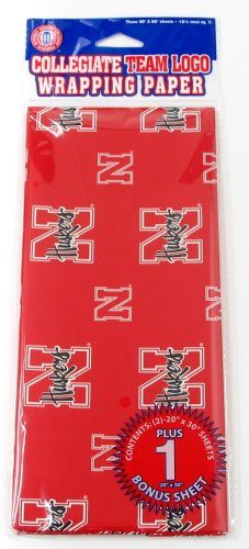 NCAA Nebraska Cornhuskers Wrapping Paper