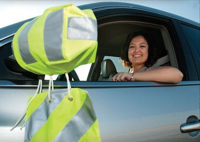 SafetySock Car//SUV External Mirror Safety Cover Globosocks