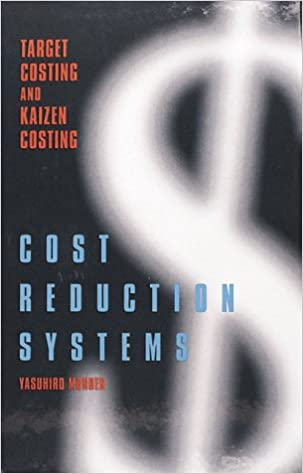Cost Reduction Systems: Target Costing and Kaizen Costing
