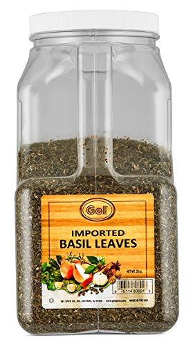 Herb Basil - Gel Spice Imported Basil Leaves 28oz