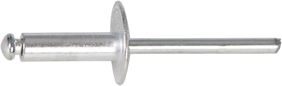 FIXMAN 789283/extremo abierto brida cabeza plata juego de remaches ciegos de 150/piezas