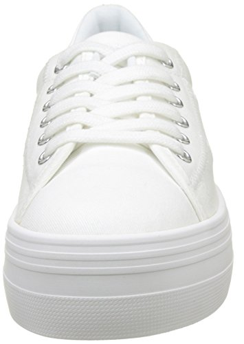 Femme Sneaker Plato Basses Baskets Name Canvas No EBw5Ycq