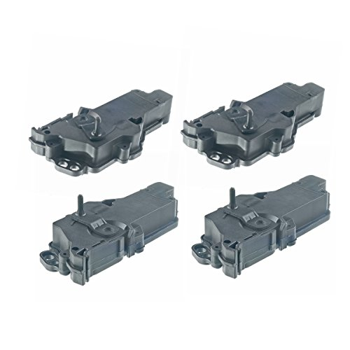 Set of 4 Front and Rear Door Lock Actuator for Ford Expedition 2003-2012 F-150 F-250 F-350 Super Duty Lincoln Navigator Mercury Sable