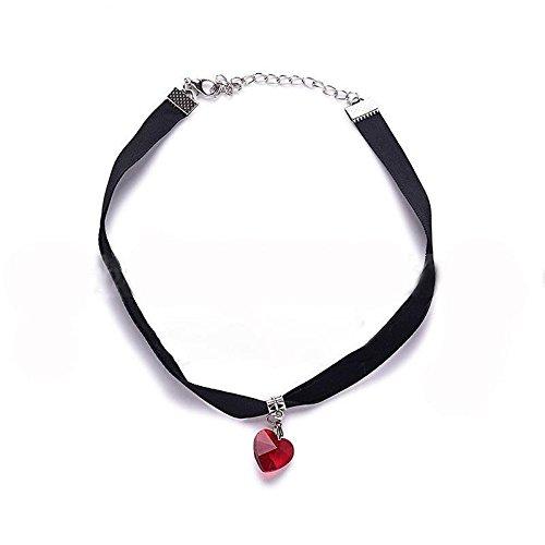 heart gem necklace - 6