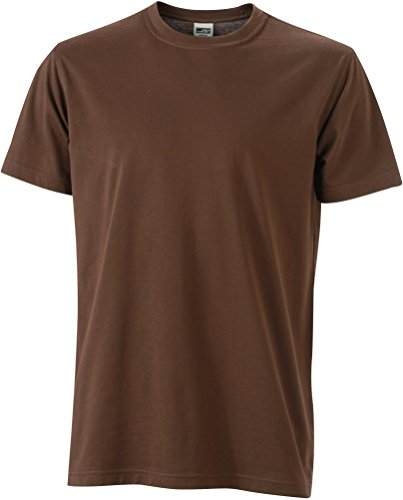 James & Nicholson - Camiseta - Manga corta - para hombre marrón