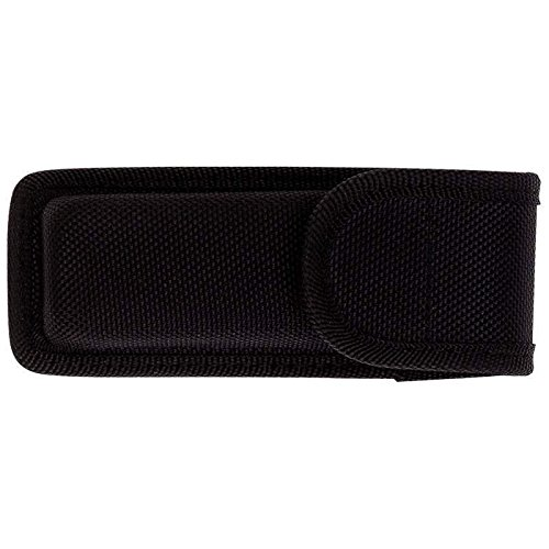 "EopZol™ 5.25"" Nylon Molded Folding Knife Sheath Pocket Pouch Holder Case Belt Loop Black"