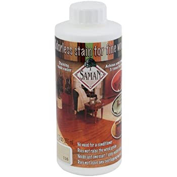 SamaN TEW-116-12 12-Ounce Interior Water Based Stain for Fine Wood, Whitewash